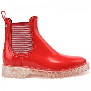 Ботинки Lemon Jelly. Цвет: красный