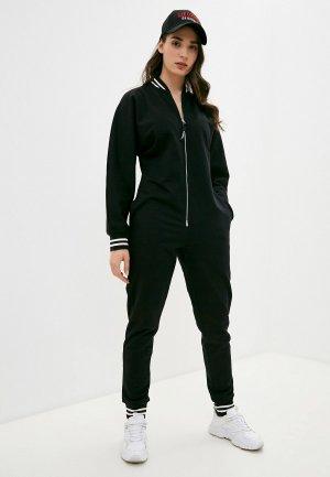 Комбинезон Monosuit BOMBERSUIT. Цвет: черный