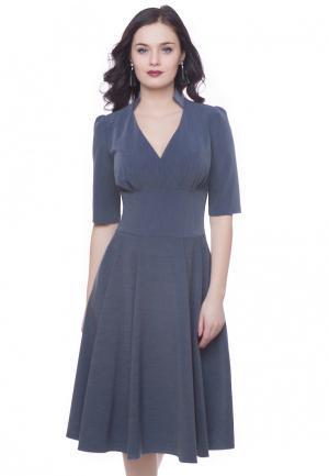 Платье Grey Cat FLURY. Цвет: синий