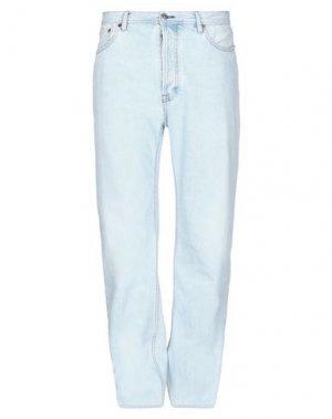 Джинсовые брюки ACNE STUDIOS BLÅ KONST. Цвет: синий