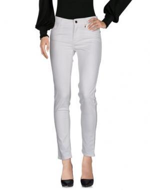 Повседневные брюки ANNA RACHELE. Цвет: белый