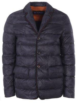 Стеганая пуховая куртка-пиджак ETRO