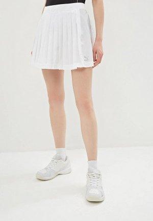 Юбка PUMA Archive Pleats T7 Skirt. Цвет: белый