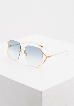 Очки солнцезащитные Gucci GG0646S 004. Цвет: золотой