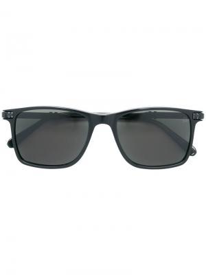Солнцезащитные очки в квадратной оправе Philipp Plein. Цвет: черный