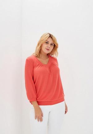 Пуловер S&A Style. Цвет: коралловый
