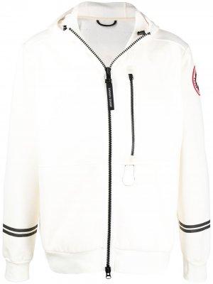 Куртка Science Research с капюшоном Canada Goose. Цвет: нейтральные цвета