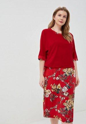 Комплект PreWoman Аэлита. Цвет: красный