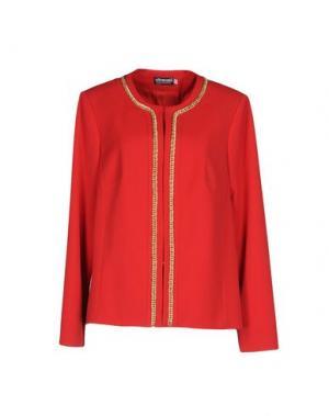 Пиджак EGOMANIA. Цвет: красный