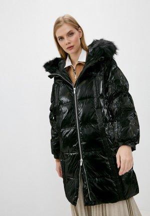 Куртка утепленная Pinko. Цвет: черный