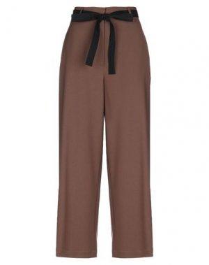 Повседневные брюки HACHE. Цвет: хаки