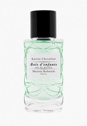 Парфюмерная вода Maison Rebatchi BOIS DENFANTS EDP 50 ml. Цвет: прозрачный