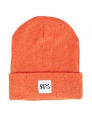 Головной убор DEDICATED.. Цвет: оранжевый