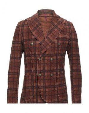Пиджак MARTIN ZELO. Цвет: коричневый