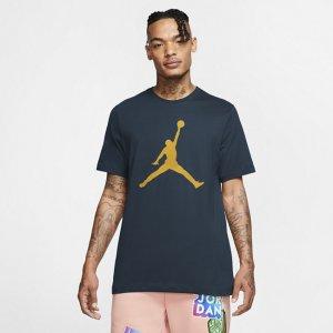 Мужская футболка Jordan Jumpman - Синий Nike