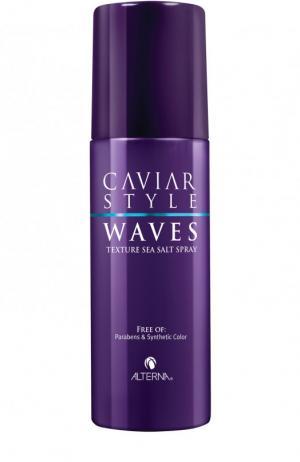 Текстурирующий спрей с морской солью Caviar Style Waves Alterna. Цвет: бесцветный