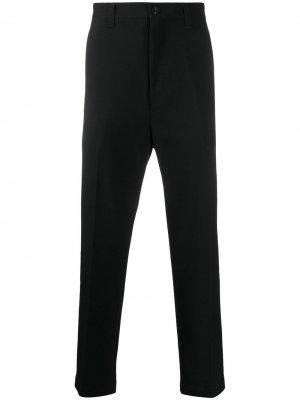 Классические брюки строгого кроя Junya Watanabe MAN. Цвет: черный