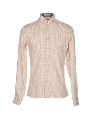 Pубашка CR7 CRISTIANO RONALDO. Цвет: песочный