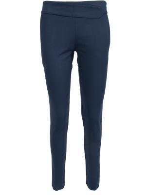 Зауженные брюки Anna Rita. Цвет: синий