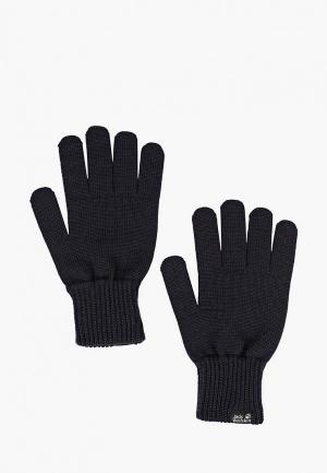 Перчатки Jack Wolfskin MILTON GLOVE. Цвет: синий
