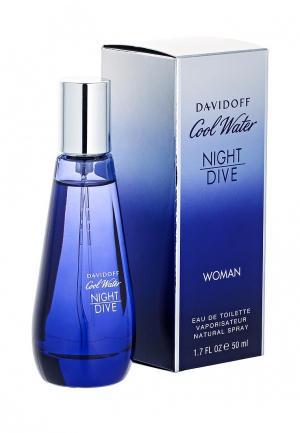 Туалетная вода Davidoff Water Night Dive Woman 50 мл