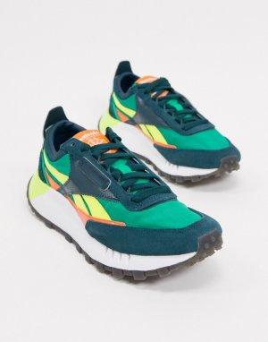 Зеленые кроссовки Classic Legacy-Зеленый Reebok