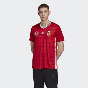 Домашняя игровая футболка сборной Венгрии Performance adidas. Цвет: красный