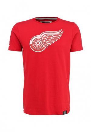 Футболка Atributika & Club™ NHL Detroit Red Wings. Цвет: красный