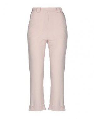 Повседневные брюки ANDREA TURCHI. Цвет: светло-розовый