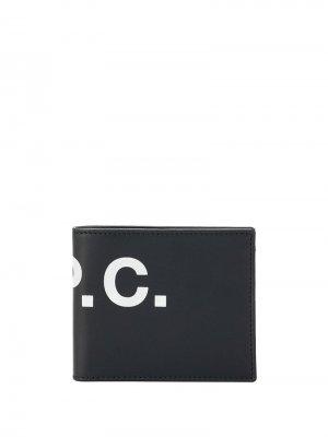 Бумажник с логотипом A.P.C.