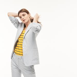 Верхняя одежда Пиджак Lacoste. Цвет: голубой