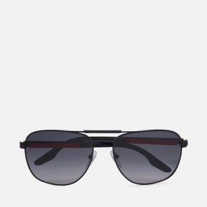 Солнцезащитные очки 53XS-1BO6G0-3P Polarized Prada Linea Rossa. Цвет: чёрный