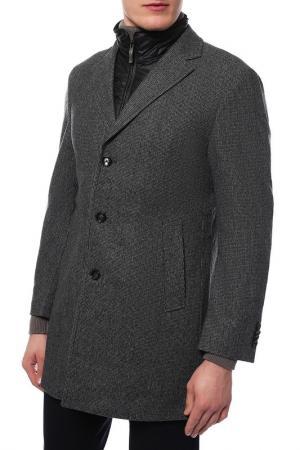 Пальто Joop. Цвет: серый