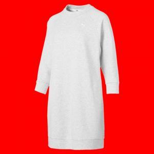 Платье Athletics Sweat Dress PUMA. Цвет: серый