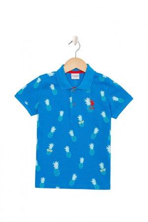Поло U.S. Polo Assn.. Цвет: vr077 голубой