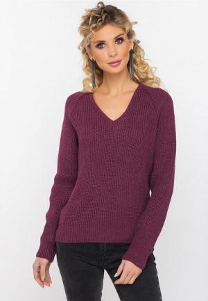 Пуловер Gloss. Цвет: бордовый