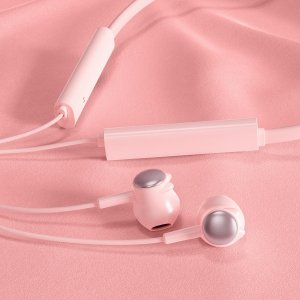 Bluetooth-гарнитура спортивный SHEIN. Цвет: розовые