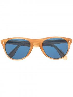 Солнцезащитные очки Abidjan в круглой оправе L.G.R. Цвет: нейтральные цвета