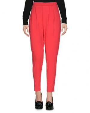 Повседневные брюки B.YU. Цвет: красный