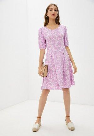 Платье Colins Colin's. Цвет: розовый