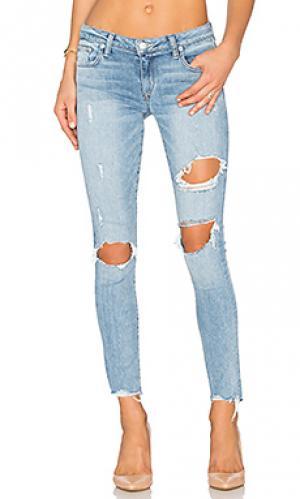Узкие джинсы ricky Lovers + Friends. Цвет: синий