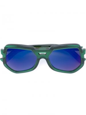 Солнцезащитные очки Clip Grey Ant. Цвет: зелёный
