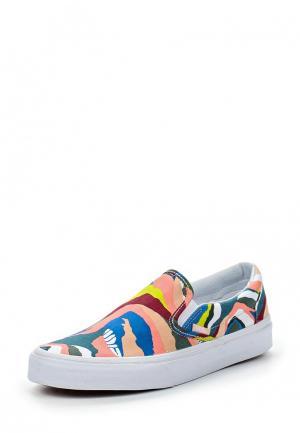 Слипоны Vans UA CLASSIC SLIP-ON (ABSTRACT HO. Цвет: разноцветный