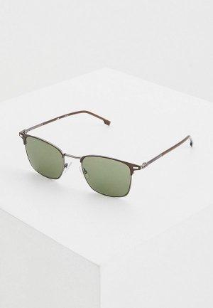 Очки солнцезащитные Boss 1122/S YZ4. Цвет: коричневый