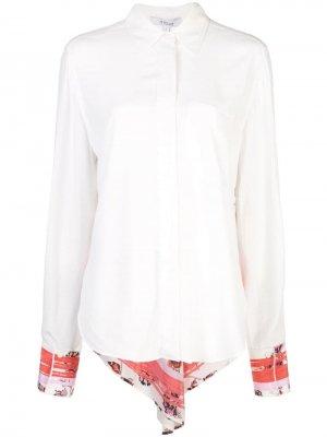 Рубашка на пуговицах с длинными рукавами Derek Lam 10 Crosby