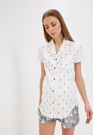 Пижама Мамин дом. Цвет: серый