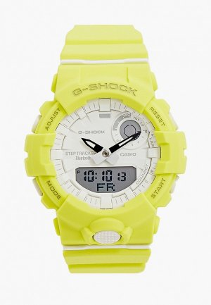 Часы Casio G-SHOCK GMA-B800-9AER. Цвет: желтый