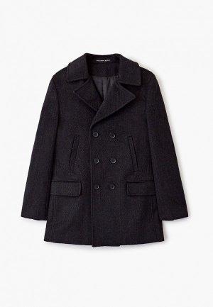 Пальто Alessandro Borelli Milano. Цвет: серый
