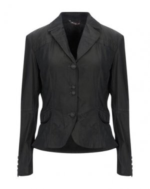 Пиджак GEOSPIRIT. Цвет: черный