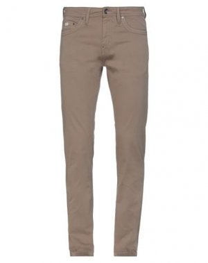Повседневные брюки GAS. Цвет: хаки